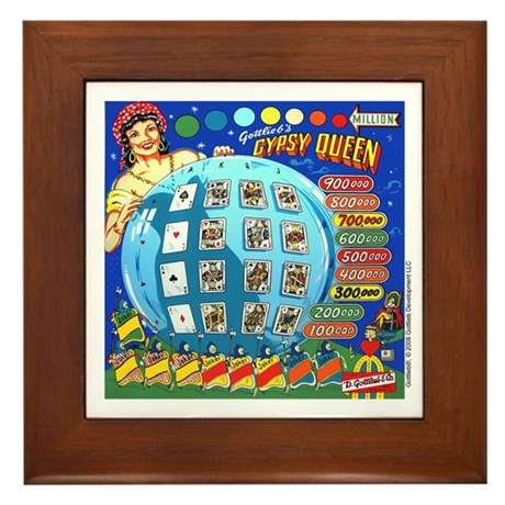 "Gottlieb® ""Gypsy Queen"" Framed Tile"