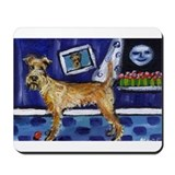 IRISH TERRIER unique fun whim Mousepad