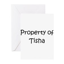 Funny Tisha Greeting Cards (Pk of 10)