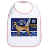 IRISH TERRIER unique fun whim Bib