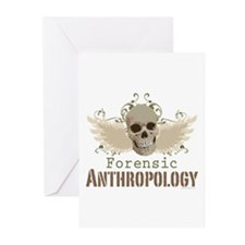 Forensic Anthropology Greeting Cards (Pk of 10)