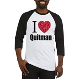 I Love Quitman Baseball Jersey