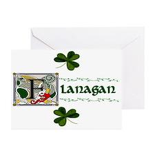 Flanagan Celtic Dragon Note Cards (Pk of 10)