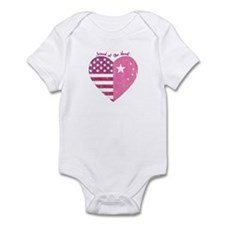 Joined at the Heart (pink) Infant Bodysuit
