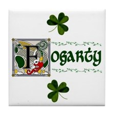 Fogarty Celtic Dragon Ceramic Tile