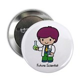 Future Scientist - Boy Button