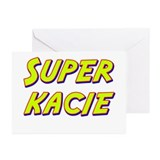 Super kacie Greeting Cards (Pk of 10)
