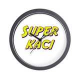 Super kaci Wall Clock