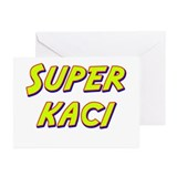 Super kaci Greeting Cards (Pk of 20)