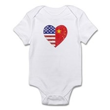 Family Heart Infant Bodysuit