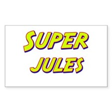 Super jules Rectangle Decal