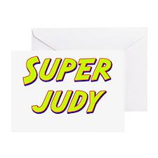 Super judy Greeting Card
