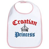 Croatian Princess 3 Bib