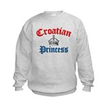 Croatian Princess 3 Sweatshirt