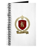 CAHOUET Family Crest Journal