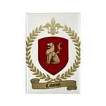 CAHOUET Family Crest Rectangle Magnet