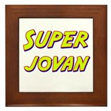 Super jovan Framed Tile