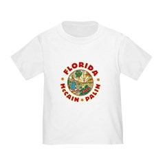 Florida For McCain / Palin Toddler T-Shirt