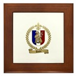 DUHON Family Crest Framed Tile