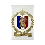 DUHON Family Crest Rectangle Magnet