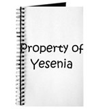 Unique Yesenia Journal