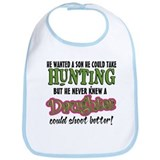 Daughters Shoot Better Bib