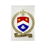 DUGUAY Family Crest Rectangle Magnet (100 pack)