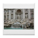 Trevi Fountain Tile Coaster