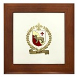 DUGAST Family Crest Framed Tile