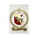 DUGAST Family Crest Rectangle Magnet