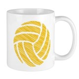 scribble ball Small Mug