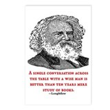 LONGFELLOW QUOTE Postcards (Package of 8)