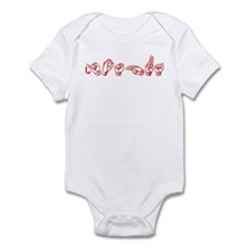 Joshua-red Infant Bodysuit