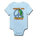 Parrots for Peace Infant Bodysuit