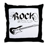 RockStar (Throw Pillow)