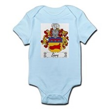 Sera Family Crest Infant Creeper