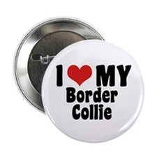 "I Love My Border Collie 2.25"" Button"