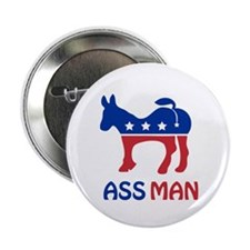 "Ass Man 2.25"" Button"