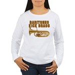 Baritones Kick Brass Women's Long Sleeve T-Shirt