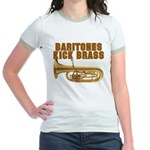 Baritones Kick Brass Jr. Ringer T-Shirt