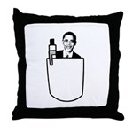 OBAMA: I've got change in my pocket Throw Pillow
