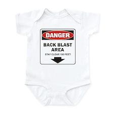 Danger Back Blast Onesie