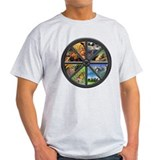 Wheel of the Year Tee (Light)