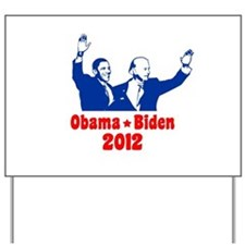 Obama Biden 2012 Yard Sign