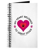 My Heart Belongs to Great Dogs Journal