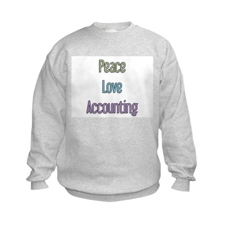 Accountant Gift Kids Sweatshirt