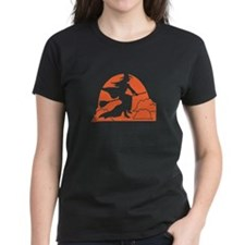 Orange Witch Tee