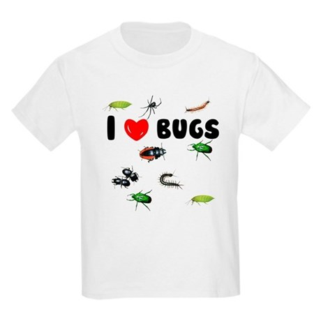 I Love Bugs (Kids Light T-Shirt)