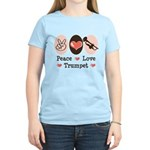 Peace Love Trumpet Women's Light T-Shirt