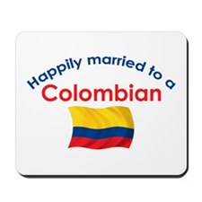 Happily Married Colombian 2 Mousepad